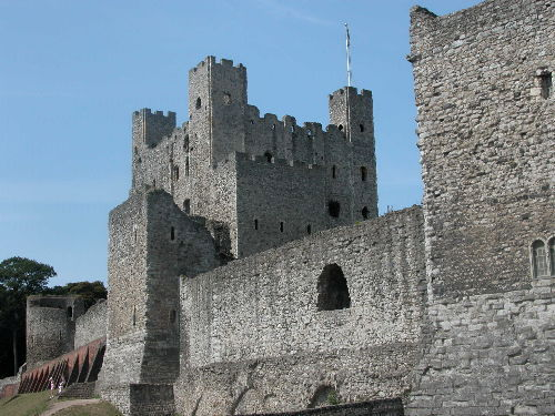 The Royal Castle at Rochester