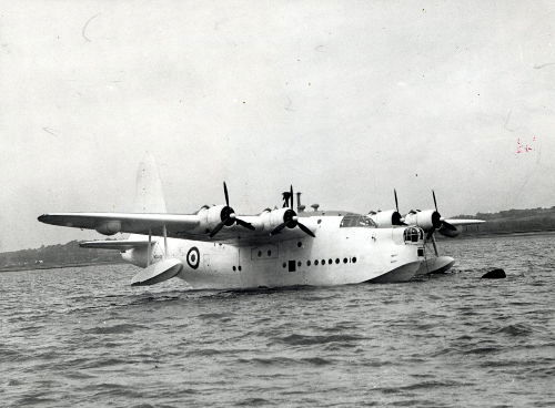 Short Sunderland at Rochester (copyright Robin Brooks)