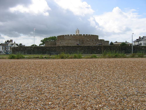 Deal Castle from the beach